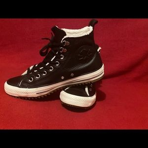 Leather All Star Converse